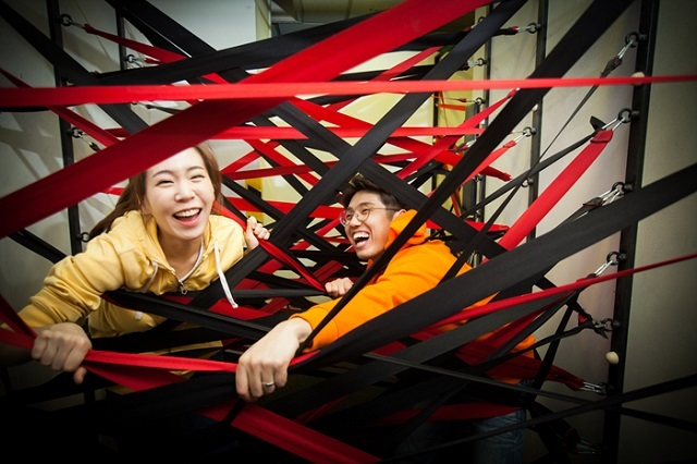 Thích thú với những trải nghiệm ở mê cung Dynamic Maze Seoul