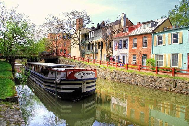 Tản bộ ở Georgetown – trải nghiệm đáng nhớ ở Washington