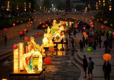 Rộn ràng lễ hội lồng đèn Cheonggye ở Seoul