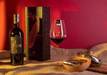 Giá bán rượu vang con công là bao nhiêu?