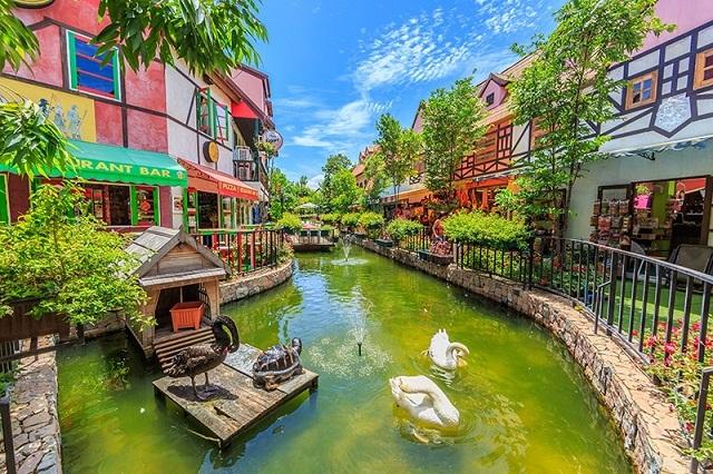 Một thoáng mộng mơ của nước Pháp thể hiện rõ nét tại Mimosa City Pattaya