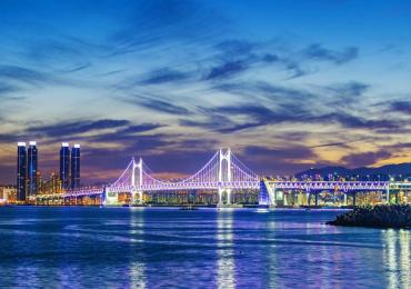 Ngắm Gwangan – cầu treo dài nhất Hàn Quốc