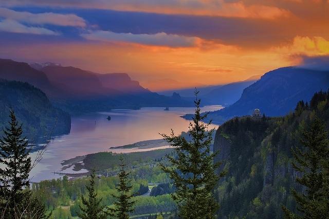 Ngắm vẻ đẹp của 4 con sông nổi tiếng ở Mỹ