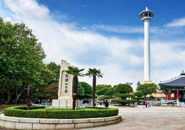 Khám phá vẻ đẹp của công viên Yongdusan ở Busan, Hàn Quốc