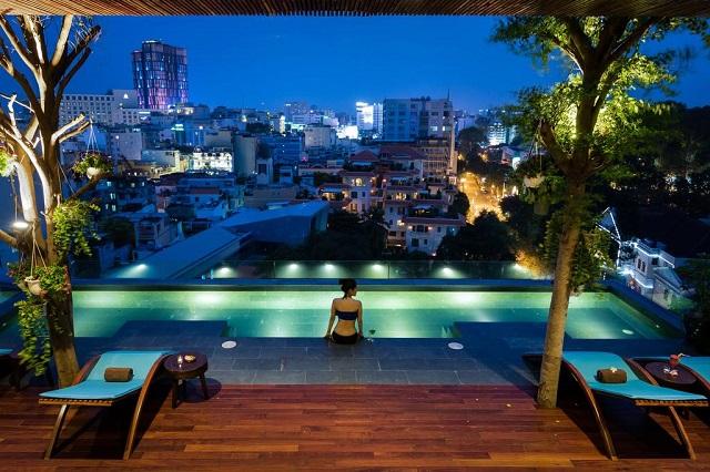 Những khách sạn có hồ bơi tốt nhất ở Sài Gòn